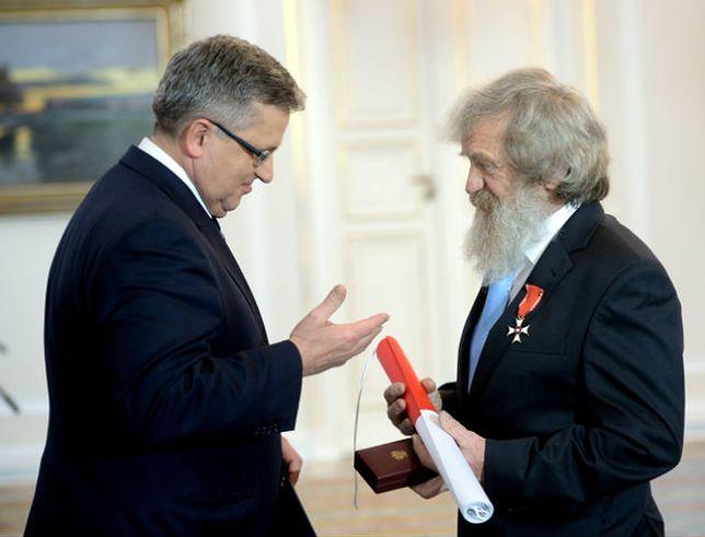 Bronisław Komorowski odznaczył Aleksandra Dobę