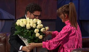 Edyta Górniak dostała kwiaty od Kuby Wojewódzkiego.