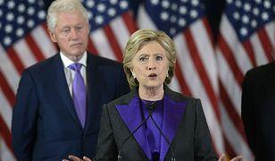 Hillary Clinton wskazała winnego za swoją porażkę w wyborach