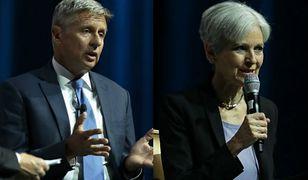 Gary Johnson i Jill Stein