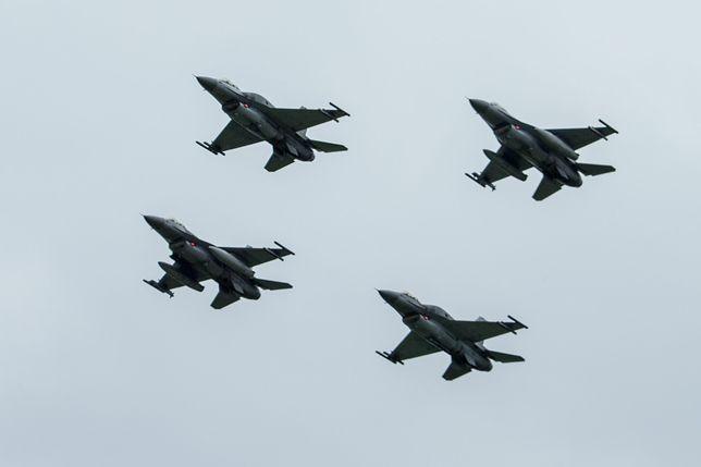 Polskie F-16 brały udział w przechwyceniu rosyjskich samolotów nad Bałtykiem