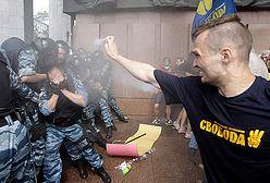 Starcia między milicją a opozycją w Kijowie