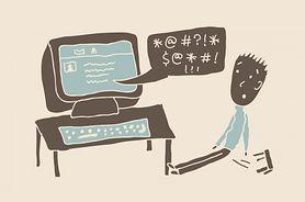 Internet, morze chamstwa