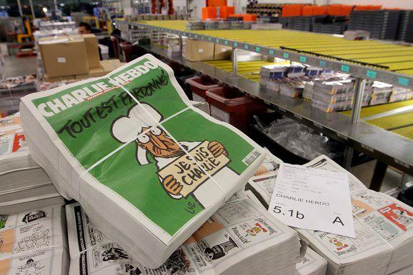 """Najnowsze wydanie tygodnika """"Charlie Hebdo"""""""