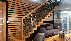 Schody - jednostkowy akcent w architekturze wnętrz