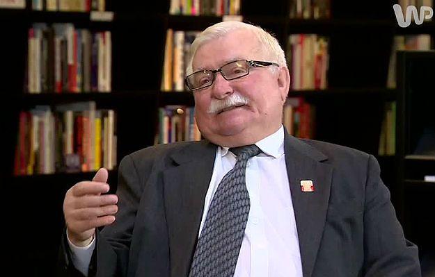 Lech Wałęsa o działaniach prezesa IPN: to zbrodnia przeciwko narodowi, nie tylko przeciwko Wałęsie