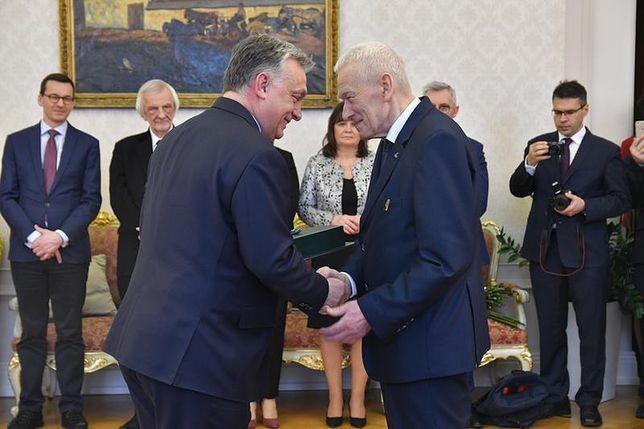 Kornel Morawiecki i Viktor Orban
