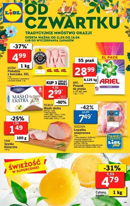 Lidl - gazetka promocyjna (11-14.04)