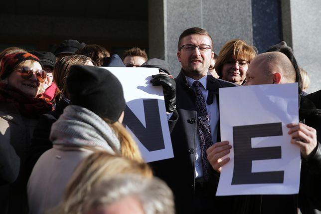 Maciej Nawacki podarł apel ws. sędziego Pawła Juszczyszyna