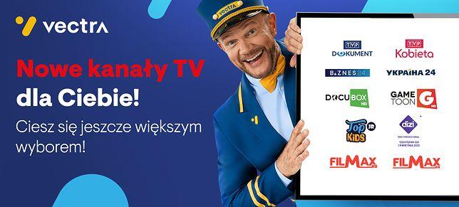 Vectra wzbogaca swoją ofertę programową o 9 nowych kanałów