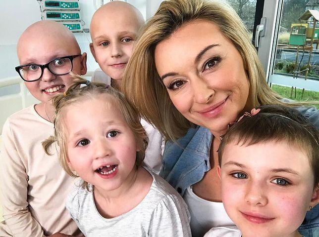 Dwa dni pełne uśmiechów. Martyna Wojciechowska odwiedziła dzieci chore na raka