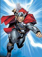 Kadr z komiksu Thor