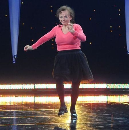 """""""Tylko taniec"""": żwawa emerytka wykosiła konkurencję!"""