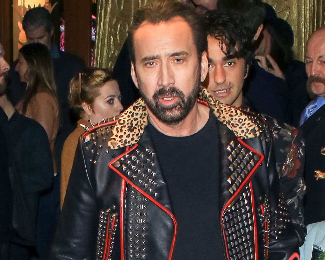 Nicolas Cage jest najmłodszym synem w rodzinie