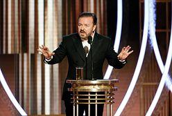 Złote Globy 2020. Ricky Gervais rozgromił publikę. Wyśmiał wszystkie przywary Hollywood