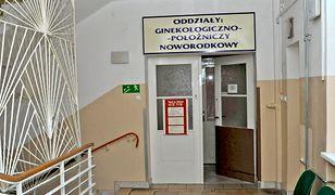 Szpital w Białogardzie, z którego został porwany noworodek.