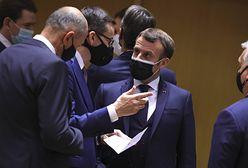Pałac Elizejski: Macron zakaził się koronawirusem podczas szczytu UE. Był tam też Morawiecki