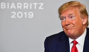 Donald Trump na szczycie G7 we Francji.