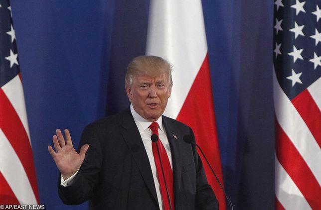 Nieoficjalnie: Donald Trump potwierdził swój przyjazd do Polski