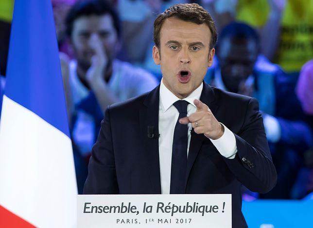 """Macron chce wyrzucić Polskę ze strefy Schengen. """"Co to w ogóle za afera?!"""""""