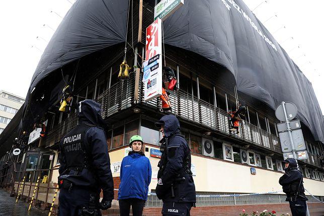 Mazurek komentuje akcję Greenpeace. Straszy kryzysem