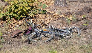 Blękwit. Nie żyje rowerzystka. Kobietę potrąciły dwa motocykle