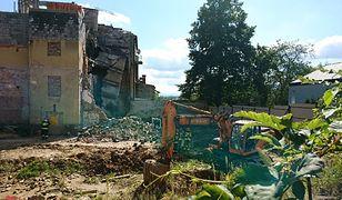 Runęła ściana kamienicy w Bielsku-Białej. Trwa akcja poszukiwawcza