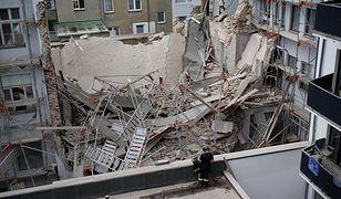 Zawalony dom w Niemczech