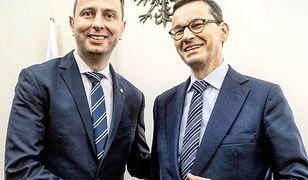 Władysław Kosiniak-Kamysz i Mateusz Morawiecki, styczeń 2019 r.