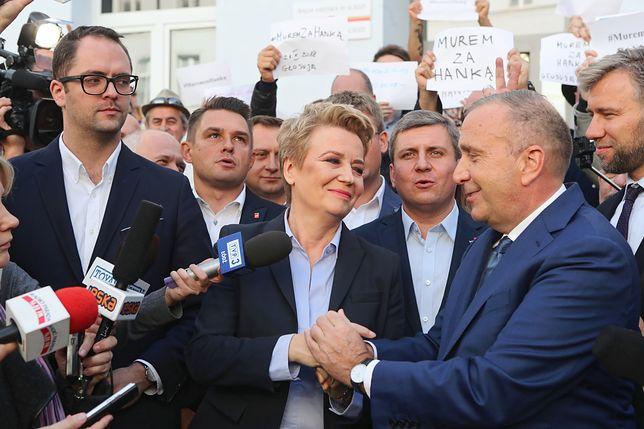 Hanna Zdanowska ma pełne wsparcie Grzegorza Schetyny