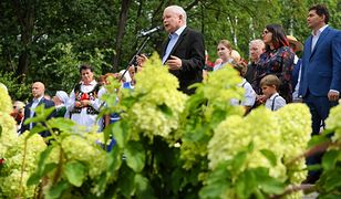 Jarosław Kaczyński mówił o LGBT na pikniku rodzinnym w Stalowej Woli