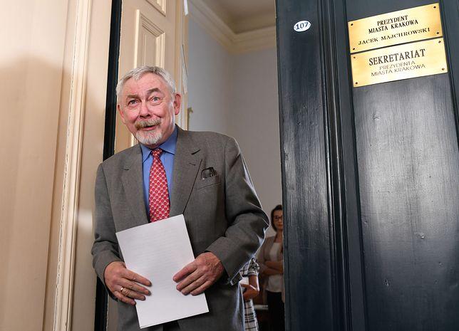 Jacek Majchrowski, prezydent miasta Krakowa