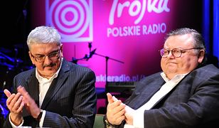 Marek Niedźwiecki i Wojciech Mann, legendarni dziennikarze Programu Trzeciego