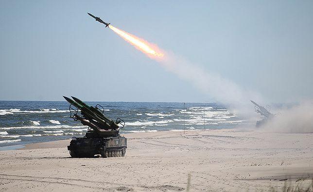 """Samobieżne wyrzutnie rakiet ziemia-powietrze """"Kub"""""""