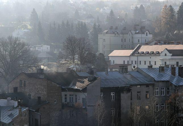 Smog w Warszawie 3 grudnia 2019 r.