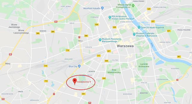 Warszawa. Pożar hostelu pracowniczego przy ul. Instalatorów w stolicy