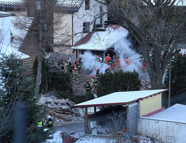 Szczyrk. Akcja poszukiwawczo-ratownicza w Szczyrku, 5 grudnia br. Ustalono dokładne miejsce przerwania gazociągu
