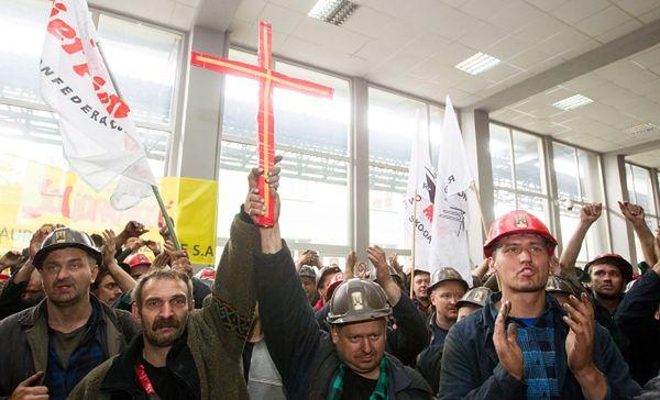 Protest górników z kopalni w Sosnowcu. Jest porozumienie