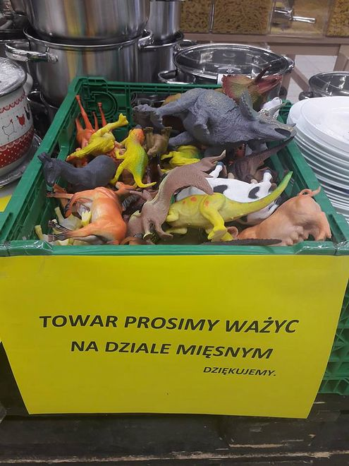 Taka nietypowa zasada obowiązuje w sklepie w Toruniu