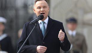 Apel prezydenta Andrzeja Dudy w sprawie przyjęcia tzw. tarczy antykryzysowej