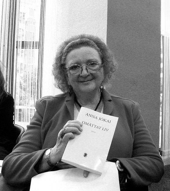 Zmarła pisarka Anna Jokai