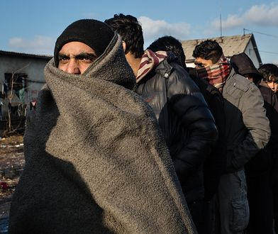 Uchodźcy próbowali przedostać się przez granicę