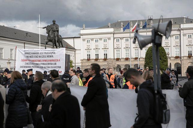Narodowy Marsz Różańcowy w stolicy