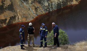 Poszukiwania ofiar Metaxy niedaleko kopalni Mitsero