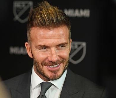 David Beckham od dziecka kochał piłkę nożną