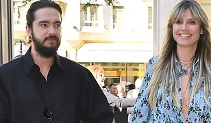 Heidi Klum i Tom Kaulitz na pokazie Valentino