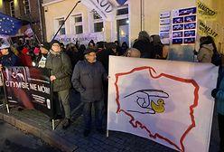 Protest w rocznicę wydania wyroku TK ws. aborcji w Gdańsku