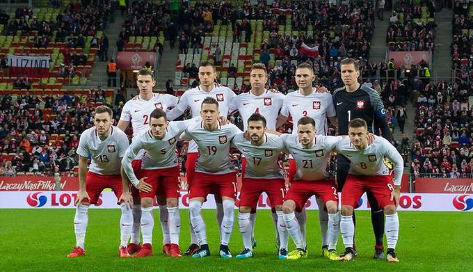 Wp Sportowefakty Michal Domnik Na Zdjeciu Pilkarze Reprezentacji Polski