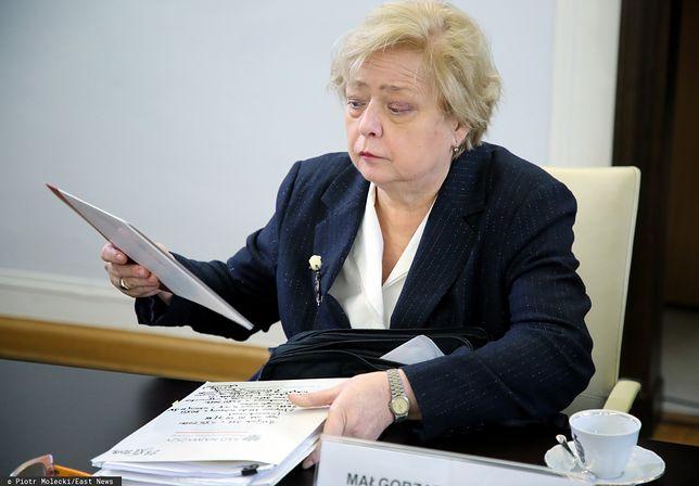 Małgorzata Gersdorf reaguje na orzeczenie TSUE