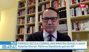 Przemysław Czarnek ministrem. Mocny komentarz Radosława Sikorskiego